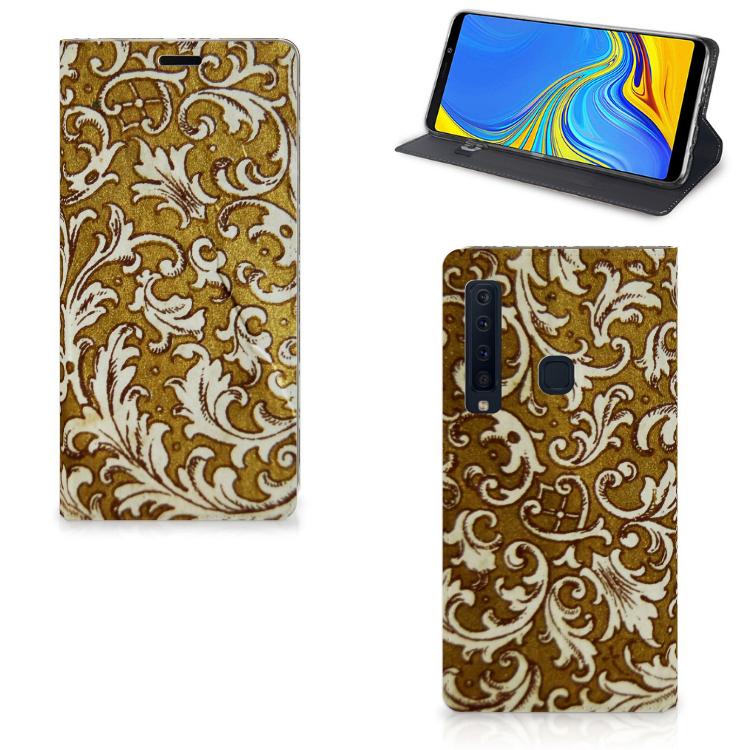 Telefoon Hoesje Samsung Galaxy A9 (2018) Barok Goud