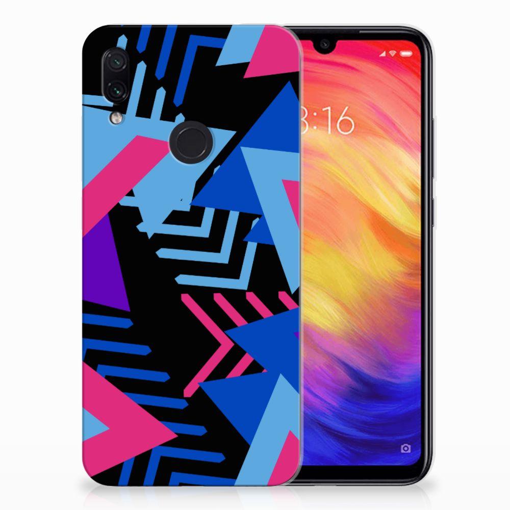 Xiaomi Redmi Note 7 TPU Hoesje Funky Triangle