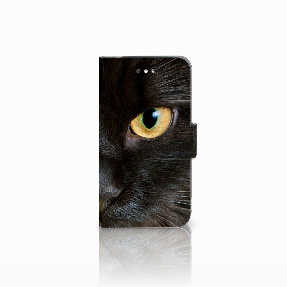 Samsung Galaxy S4 Uniek Boekhoesje Zwarte Kat