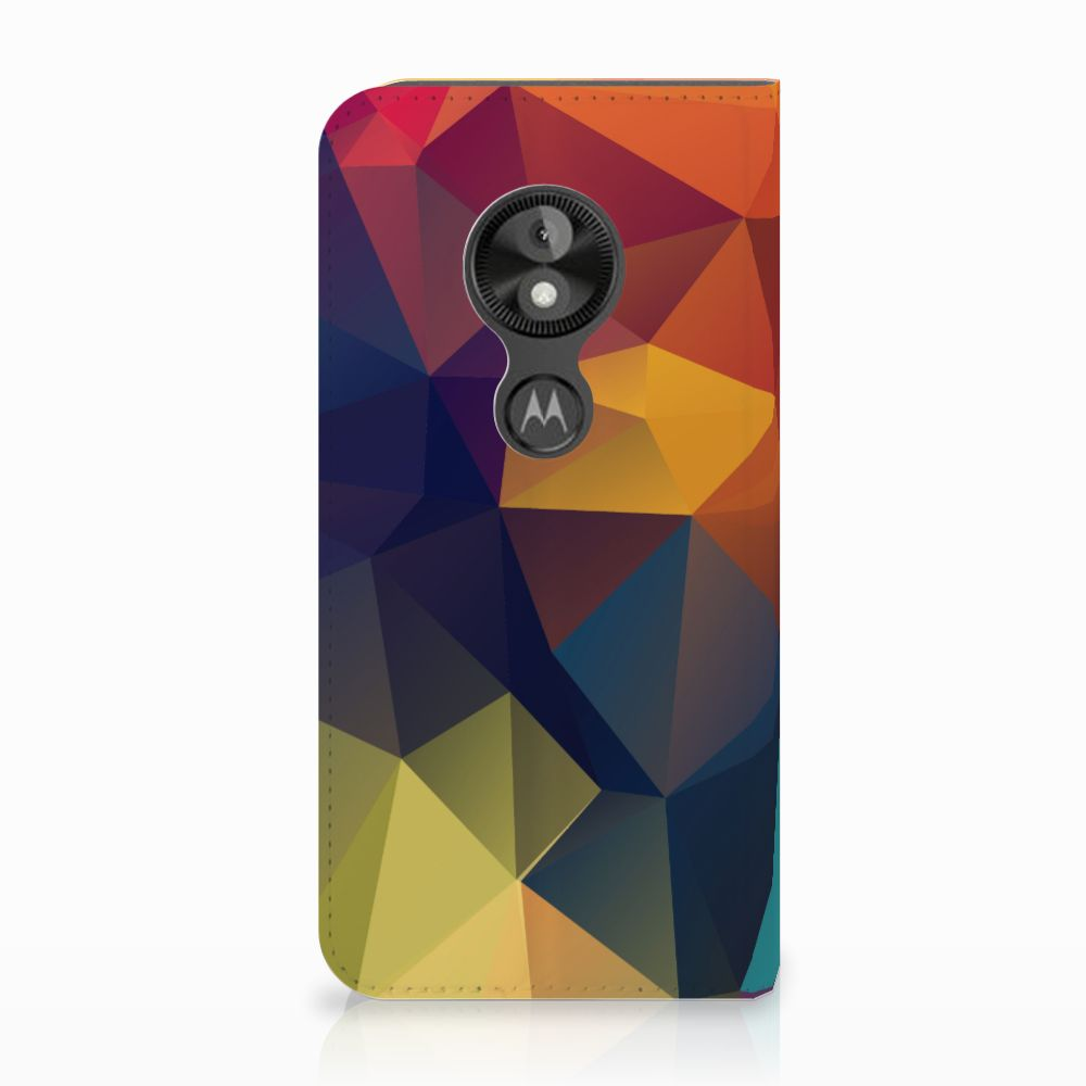 Motorola Moto E5 Play Stand Case Polygon Color