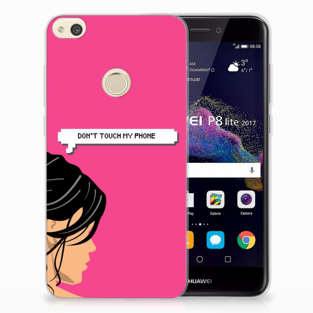Huawei P8 Lite 2017 Uniek TPU Hoesje Woman DTMP