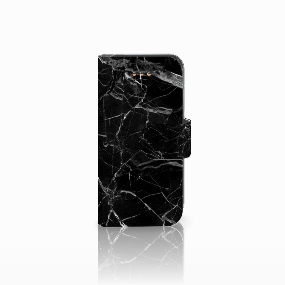 Apple iPhone 5C Boekhoesje Marmer Zwart