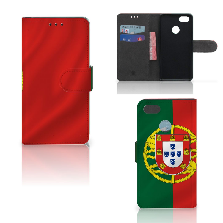 Huawei Y6 Pro 2017 Bookstyle Case Portugal