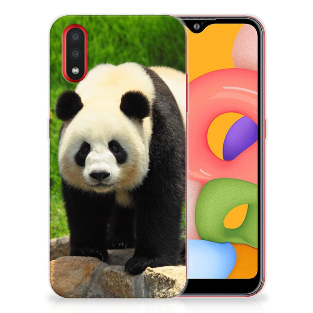 Samsung Galaxy A01 TPU Hoesje Panda