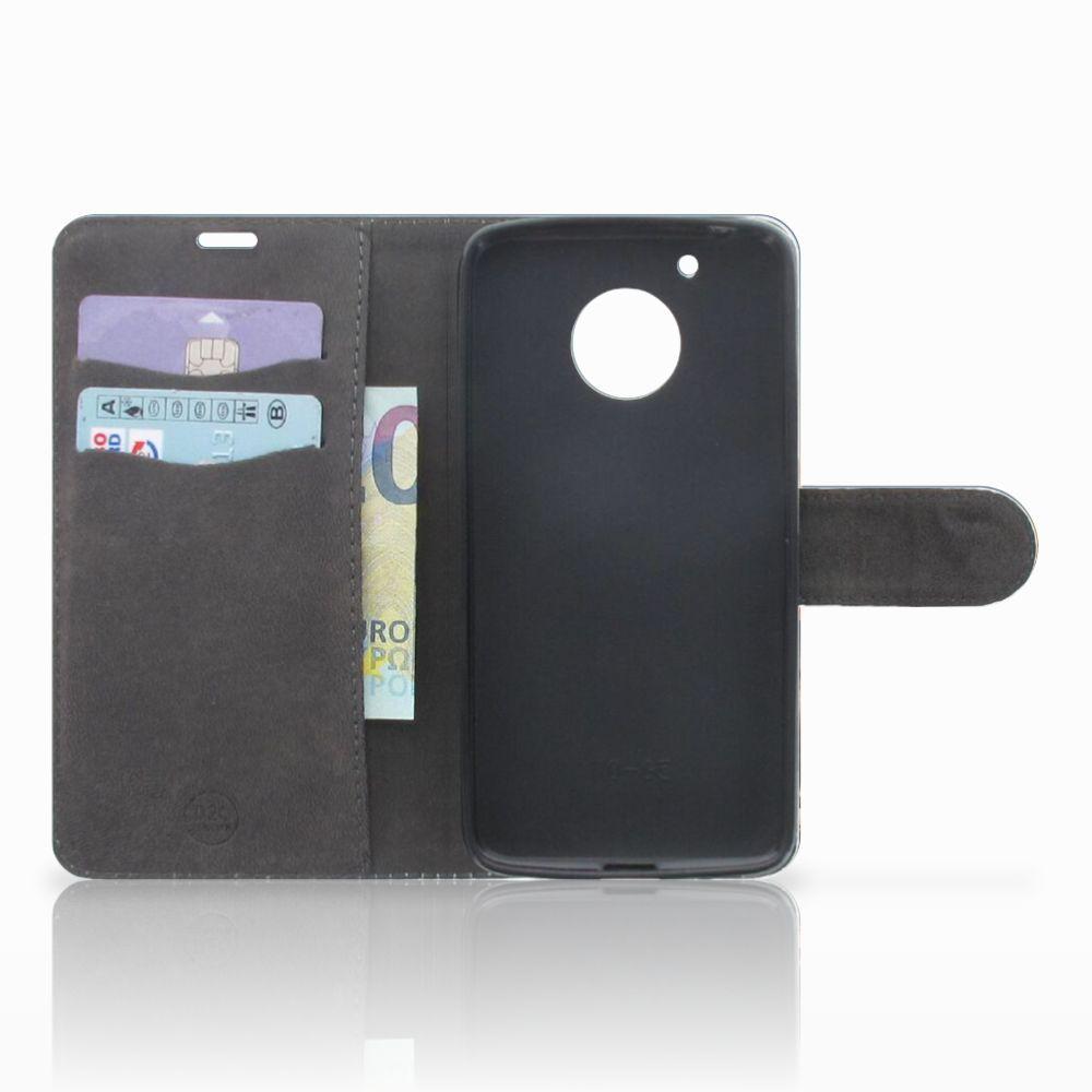 Motorola Moto G5 Telefoonhoesje met Pasjes Olifanten