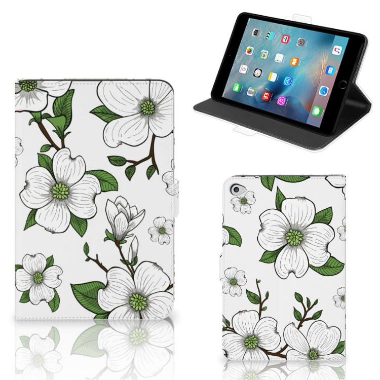 Apple iPad Mini 5 Tablet Cover Dogwood Flowers