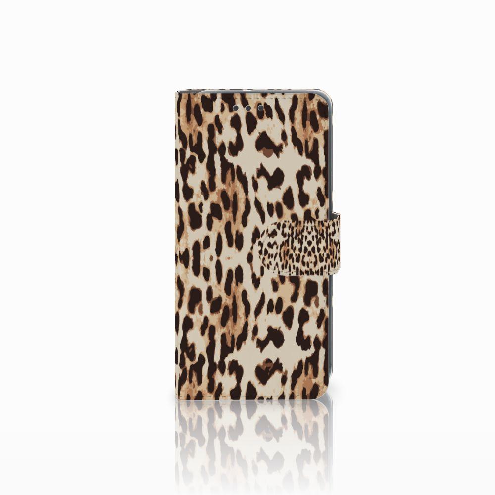 HTC U11 Life Uniek Boekhoesje Leopard