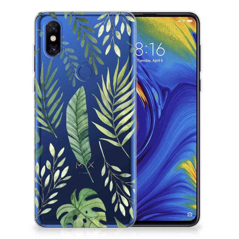 Xiaomi Mi Mix 3 TPU Case Leaves
