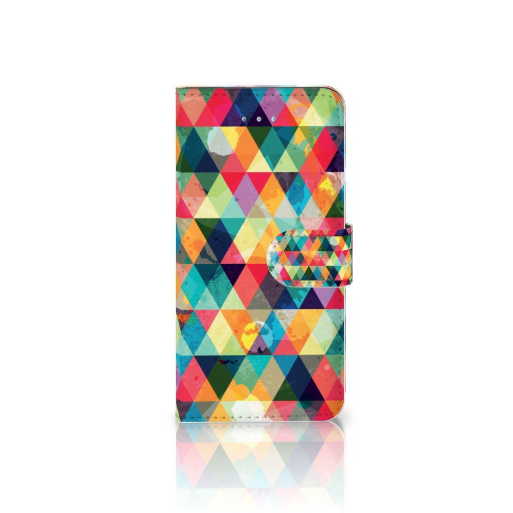 Huawei Honor 4A | Y6 Uniek Boekhoesje Geruit