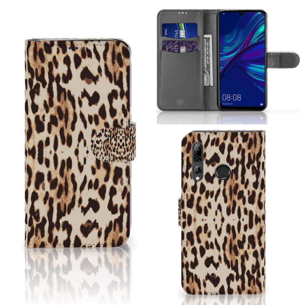 Huawei P Smart 2019 Telefoonhoesje met Pasjes Leopard