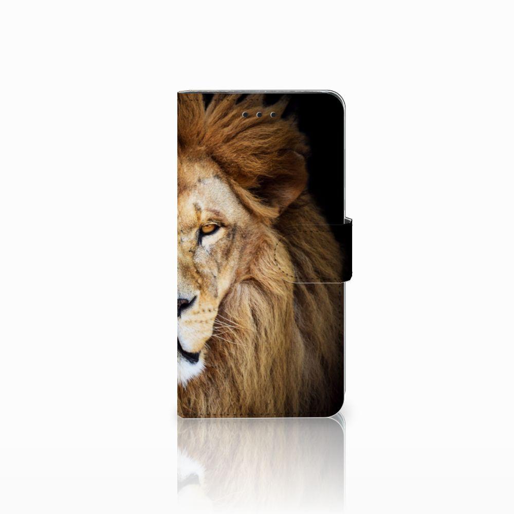 Huawei Y5 2018 Boekhoesje Design Leeuw