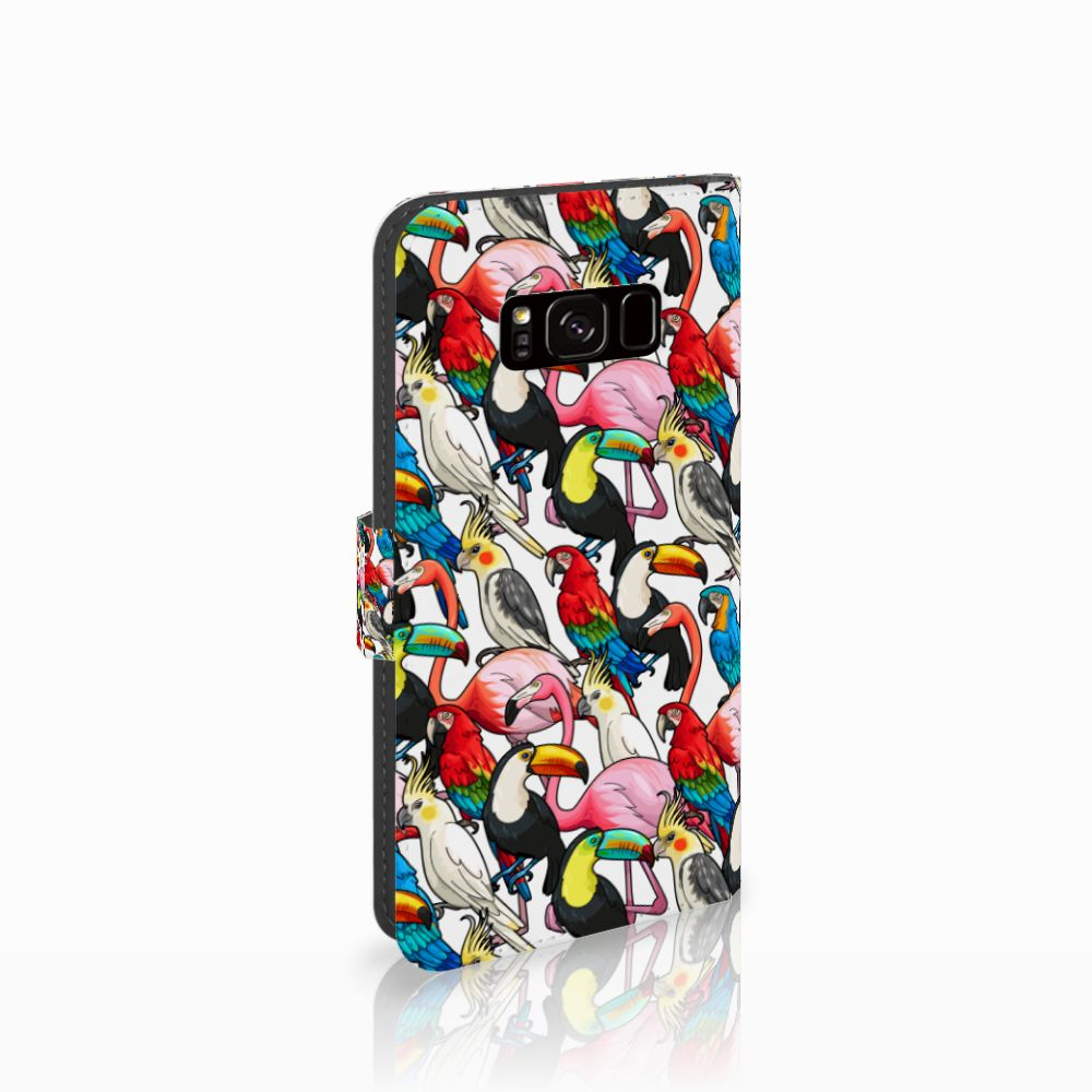 Samsung Galaxy S8 Uniek Boekhoesje Birds
