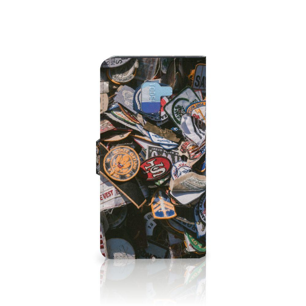 Samsung Galaxy A8 Plus (2018) Telefoonhoesje met foto Badges