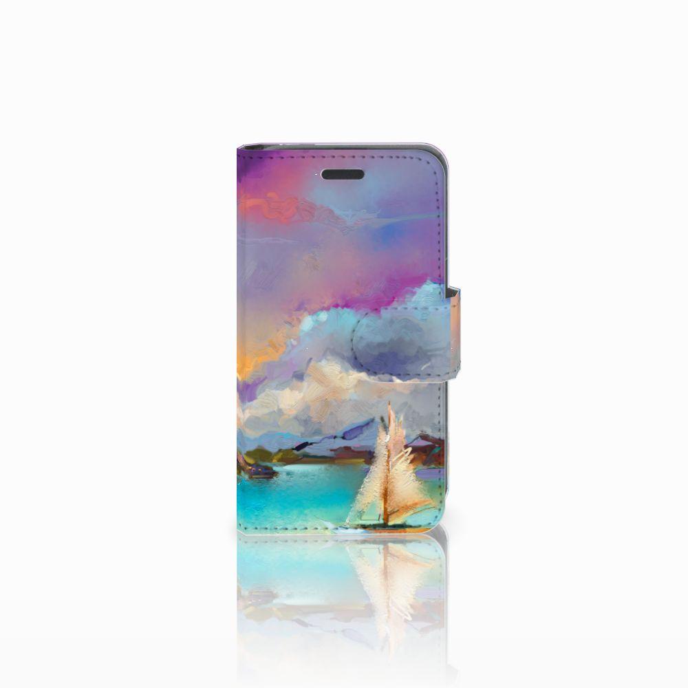 Nokia Lumia 520 Uniek Boekhoesje Boat