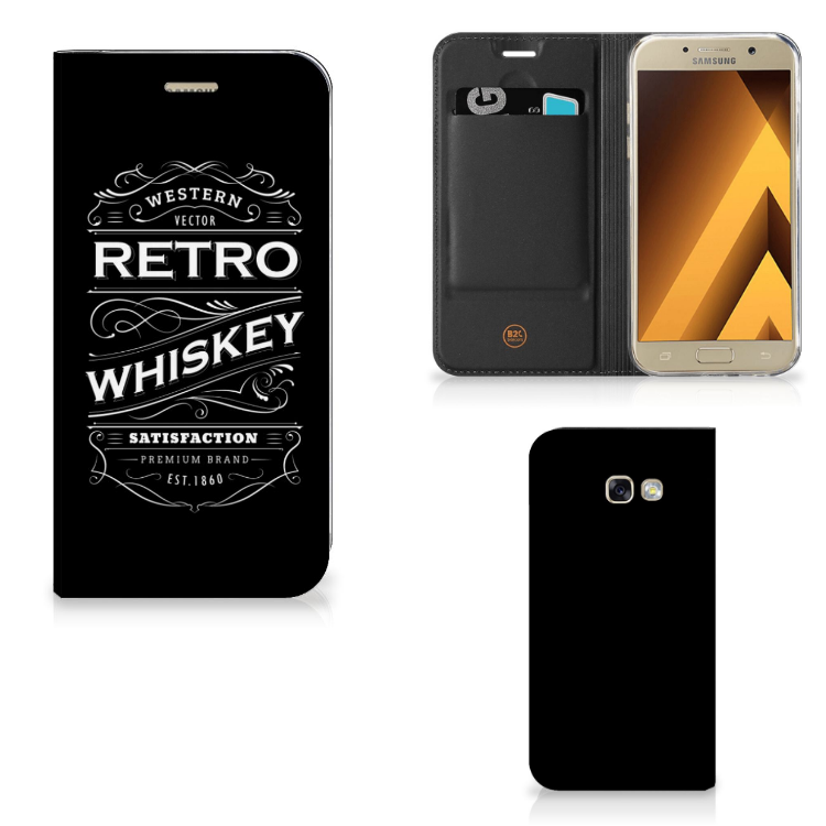 Samsung Galaxy A5 2017 Flip Style Cover Whiskey
