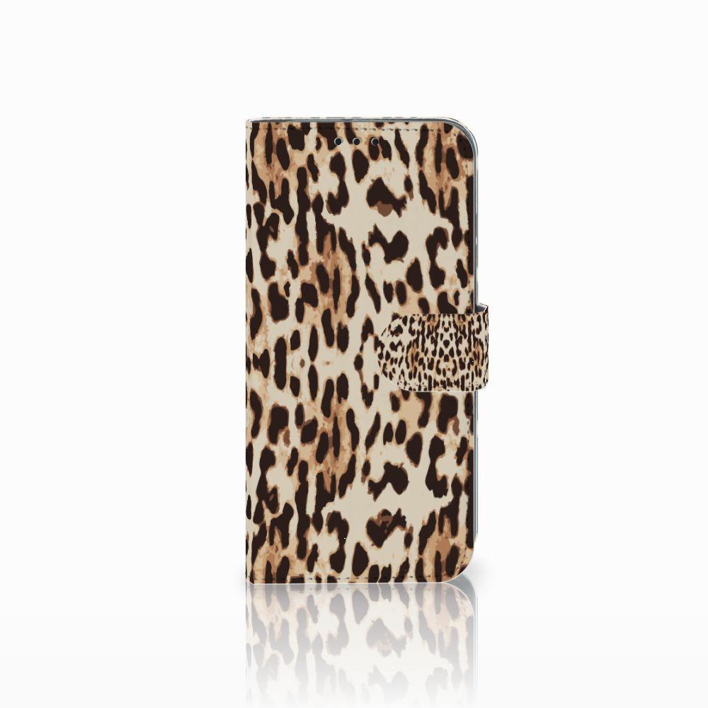 Honor 10 Lite Uniek Boekhoesje Leopard