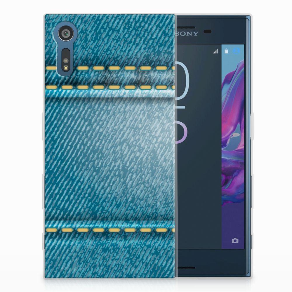 Sony Xperia XZs | XZ TPU Hoesje Design Jeans