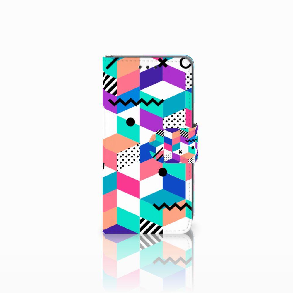 Nokia Lumia 630 Bookcase Blokken Kleurrijk