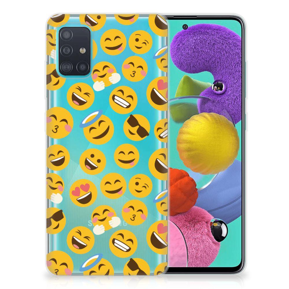 Samsung Galaxy A51 TPU bumper Emoji