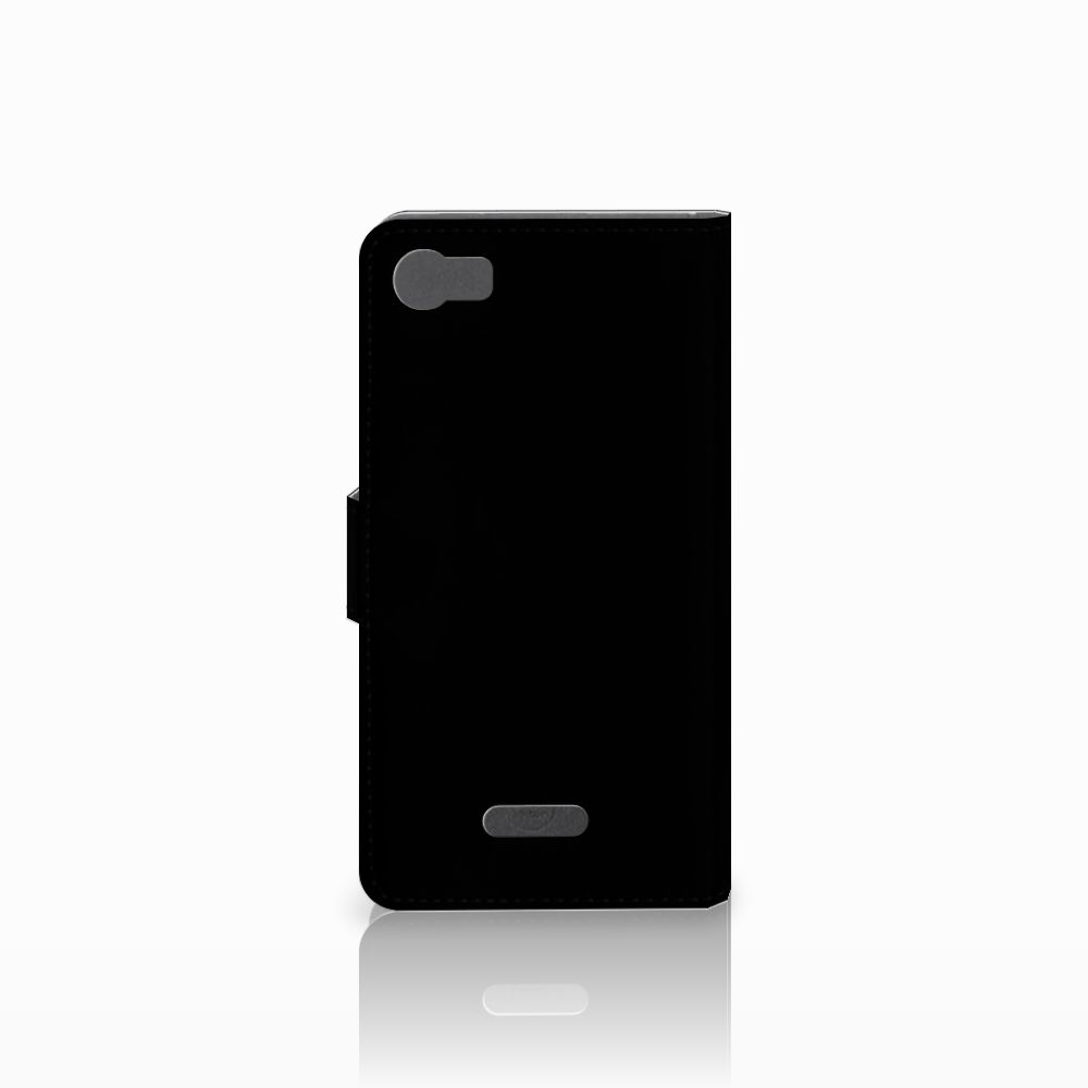 Wiko Fever (4G) Book Cover Whiskey