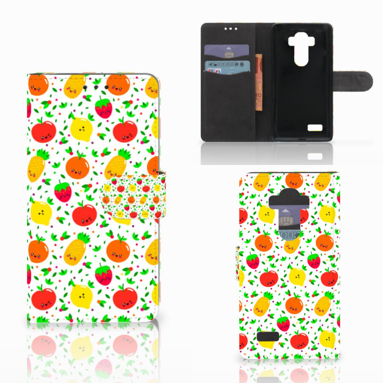 LG G4 Book Cover Fruits
