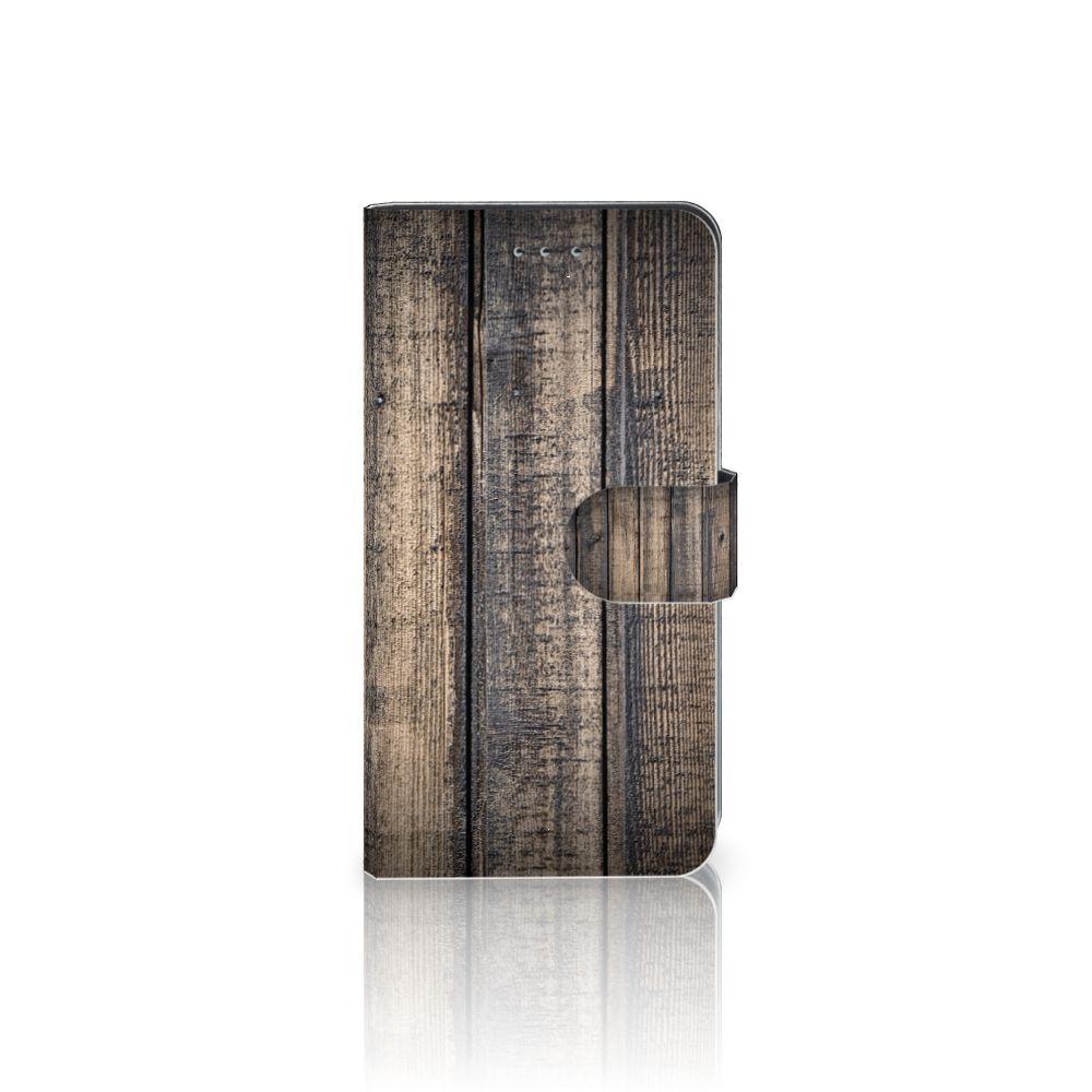 Samsung Galaxy J4 2018 Boekhoesje Design Steigerhout