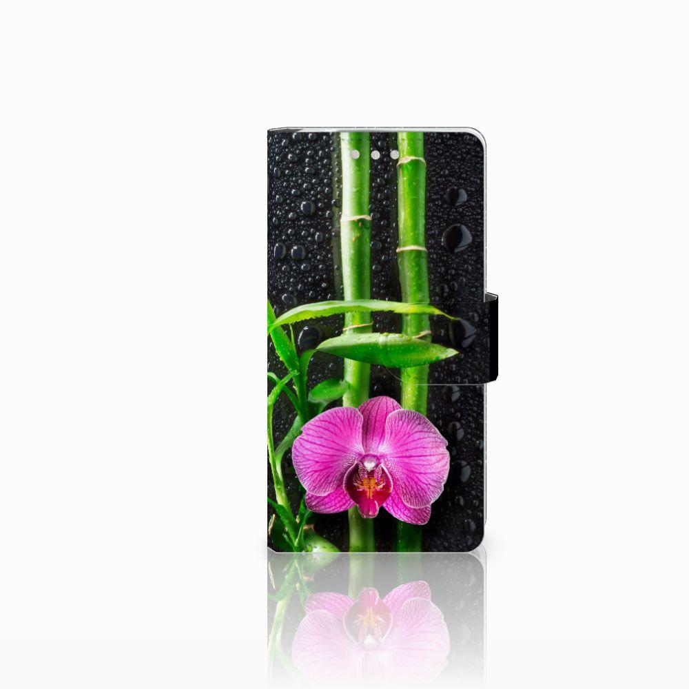 Sony Xperia XZ2 Compact Boekhoesje Design Orchidee