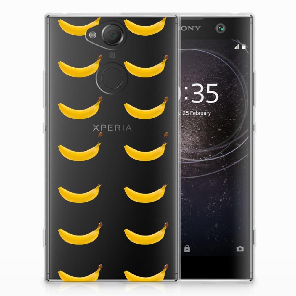 Sony Xperia XA2 Siliconen Case Banana