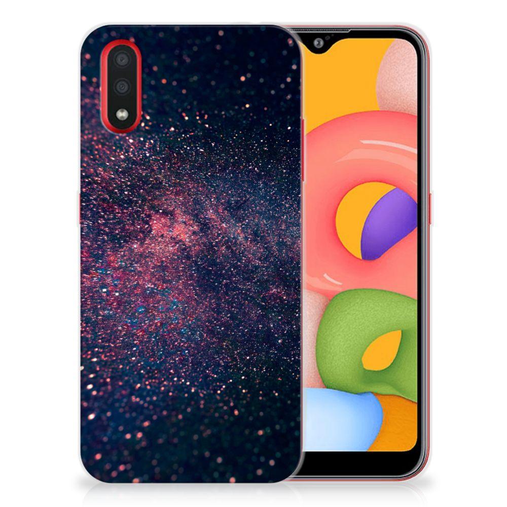 Samsung Galaxy A01 TPU Hoesje Stars