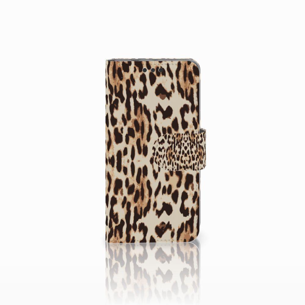 Sony Xperia Z3 Compact Uniek Boekhoesje Leopard