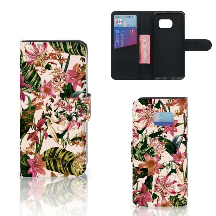 Samsung Galaxy S6 Edge Hoesje Flowers