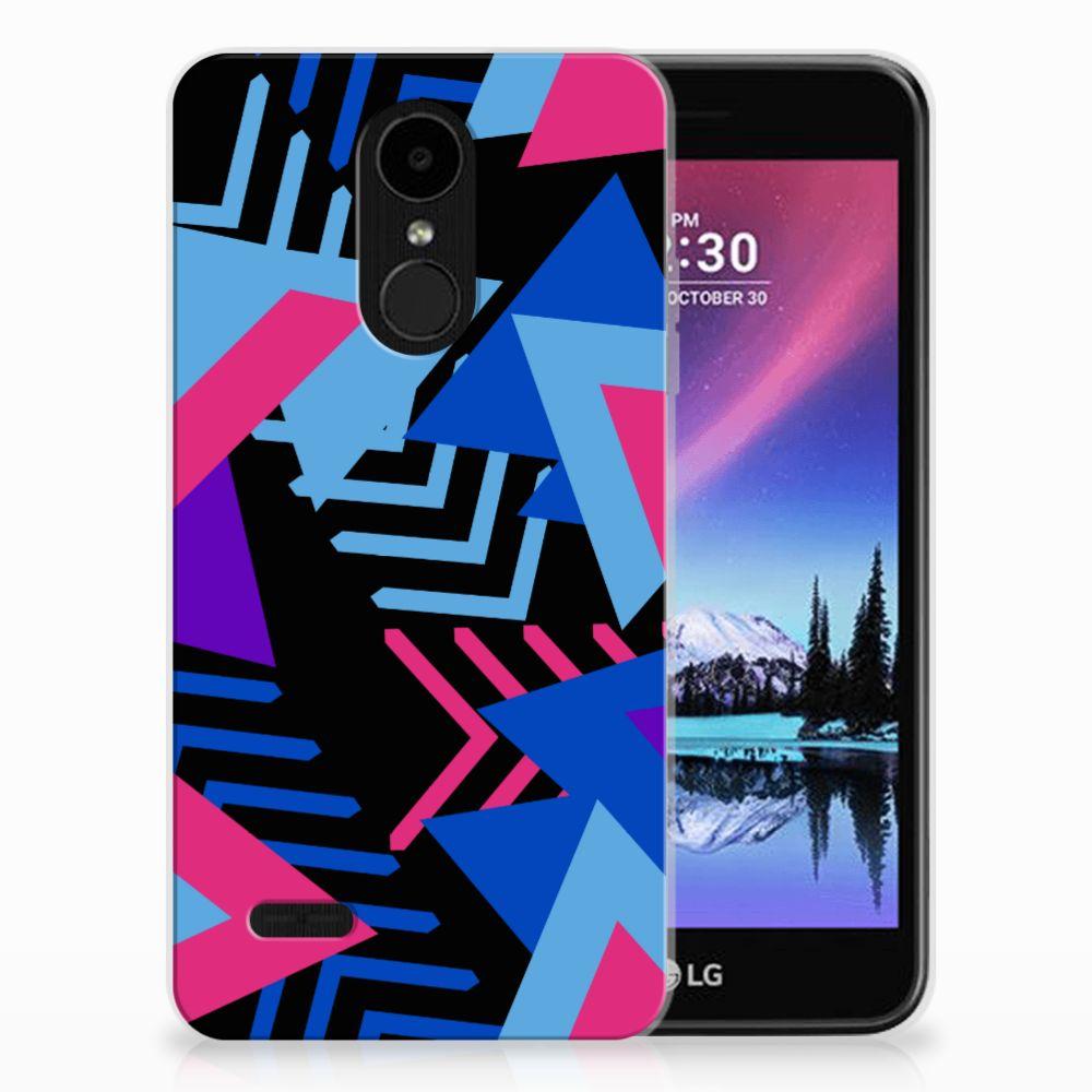 LG K4 (2017) TPU Hoesje Funky Triangle