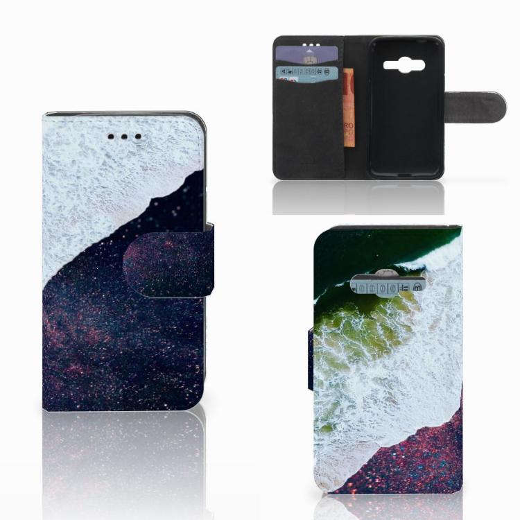 Samsung Galaxy Trend 2 Bookcase Sea in Space