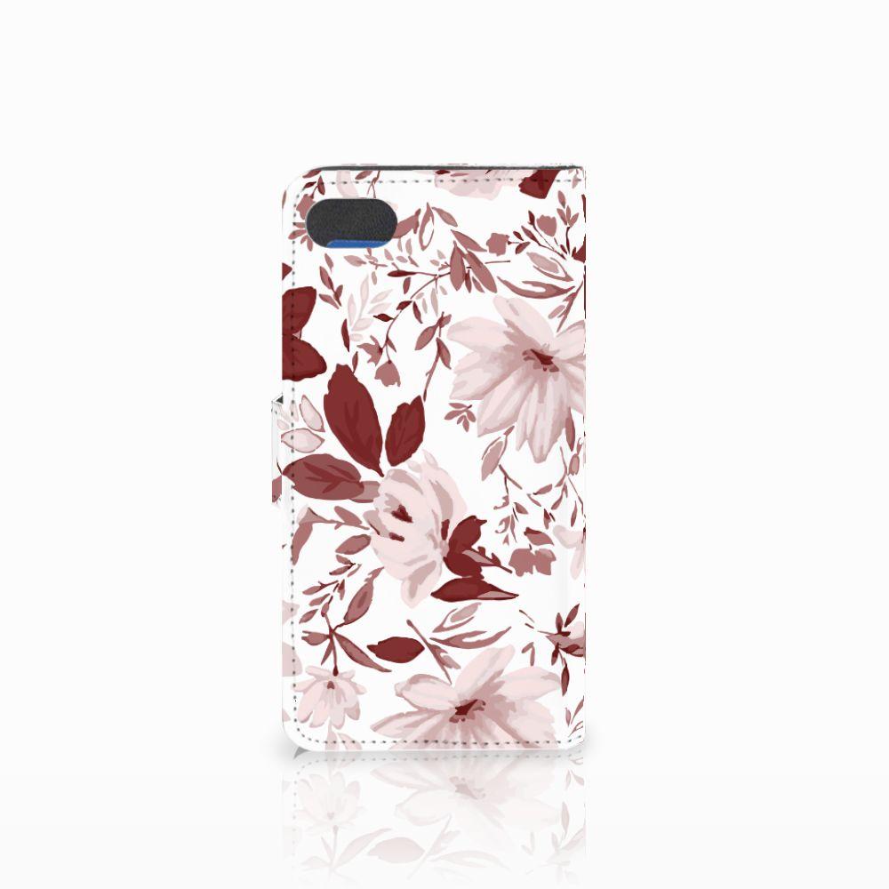 Hoesje Huawei Y5 2018 Watercolor Flowers