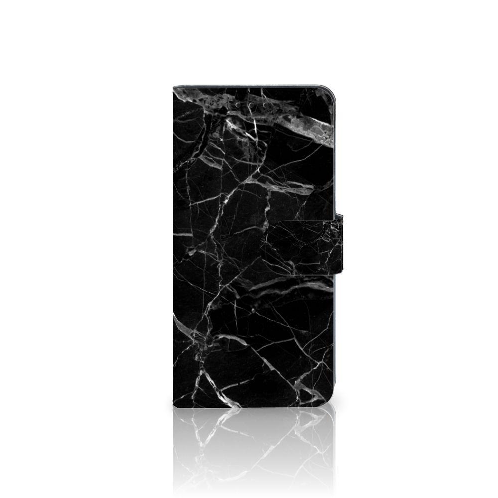 Huawei Mate 10 Pro Uniek Boekhoesje Marmer Zwart