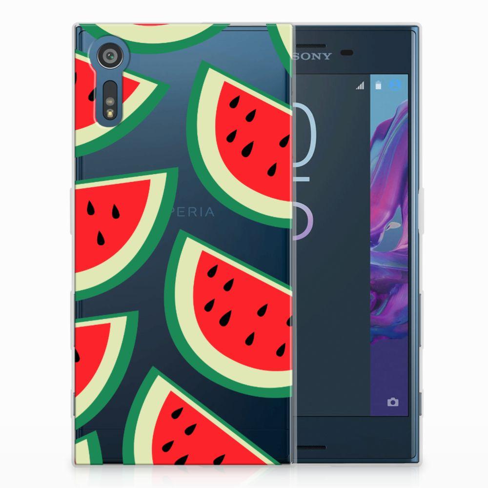 Sony Xperia XZs | XZ Uniek TPU Hoesje Watermelons
