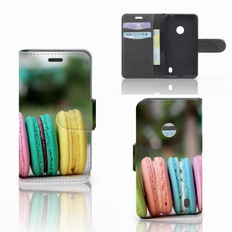 Nokia Lumia 520 Book Cover Macarons