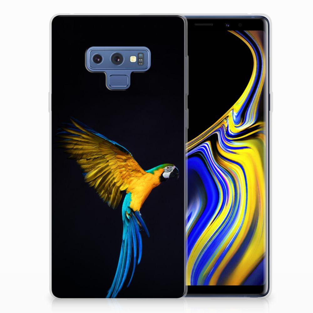 Samsung Galaxy Note 9 TPU Hoesje Papegaai