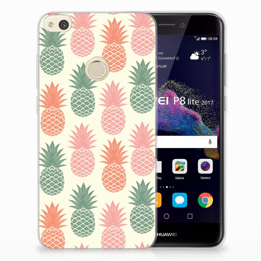 Huawei P8 Lite 2017 TPU Hoesje Design Ananas