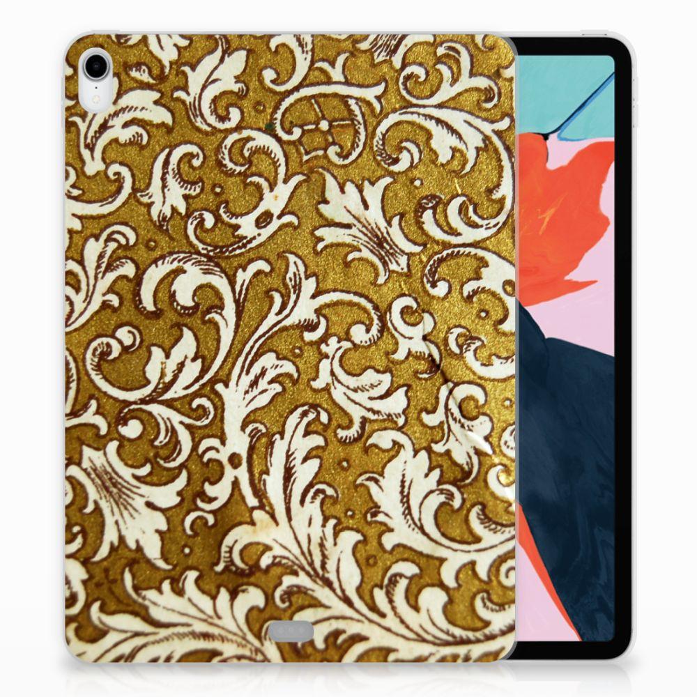 Apple iPad Pro 11 inch (2018) TPU Hoesje Design Barok Goud