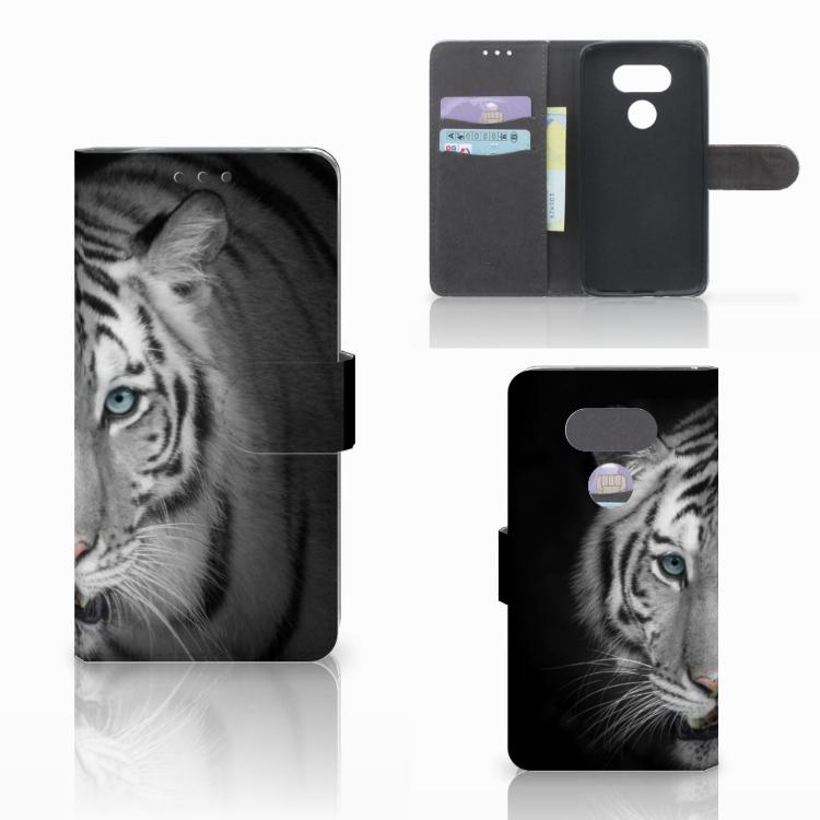 LG G5 Telefoonhoesje met Pasjes Tijger