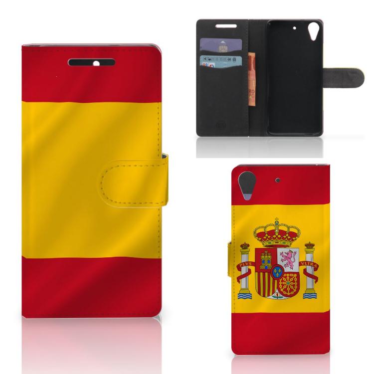 HTC Desire 628 Bookstyle Case Spanje