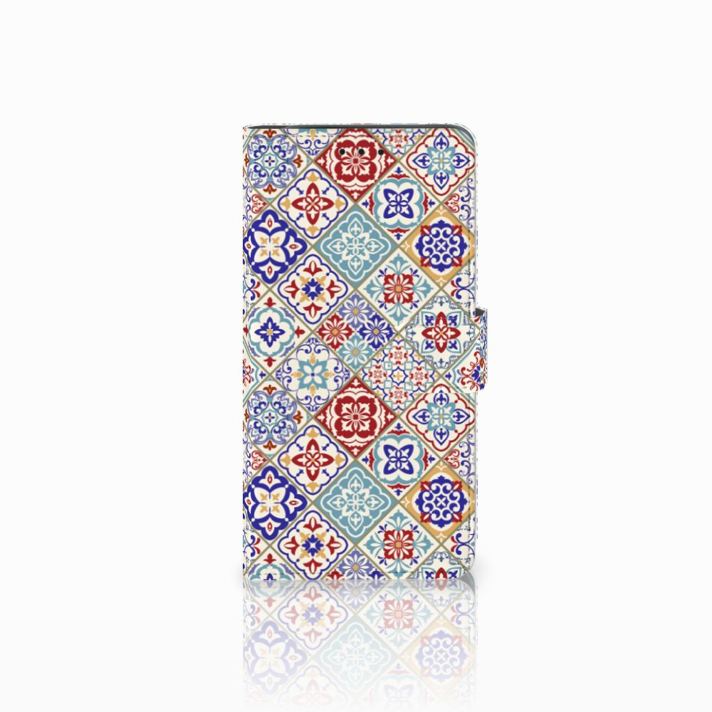 Samsung Galaxy J6 Plus (2018) Bookcase Tiles Color