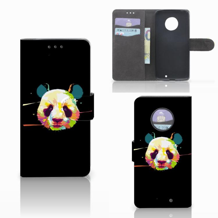 Motorola Moto X4 Leuk Hoesje Panda Color