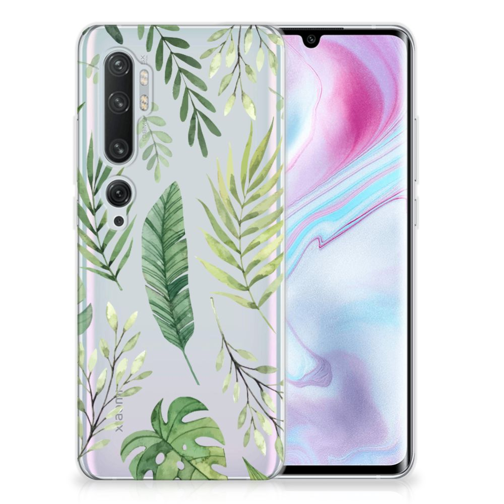 Xiaomi Mi Note 10 Pro TPU Case Leaves