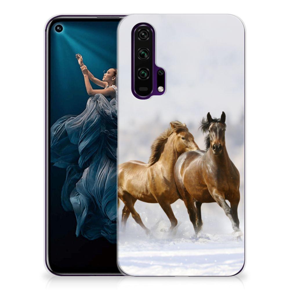Honor 20 Pro TPU Hoesje Paarden