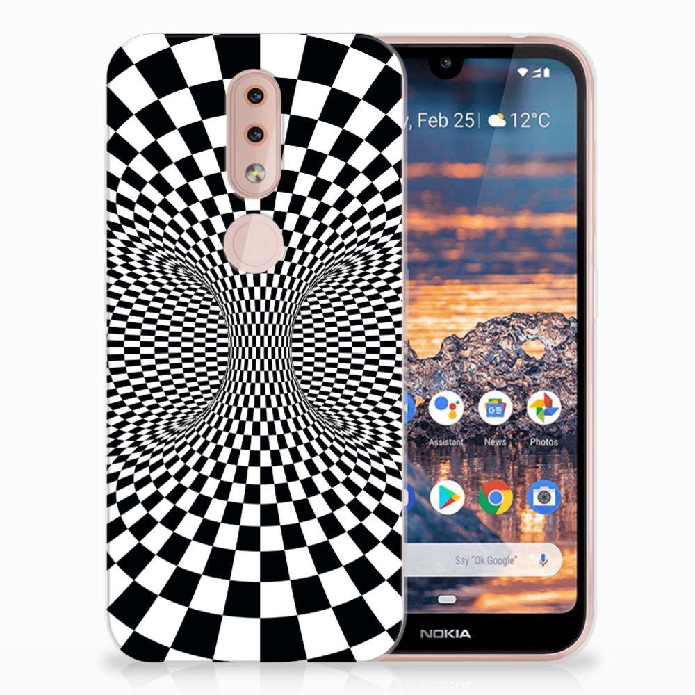 Nokia 4.2 TPU Hoesje Illusie