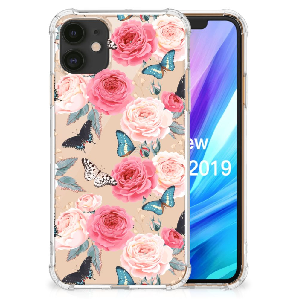 Apple iPhone 11 Case Butterfly Roses