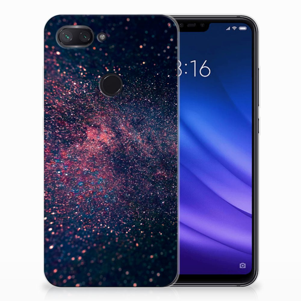 Xiaomi Mi 8 Lite TPU Hoesje Stars