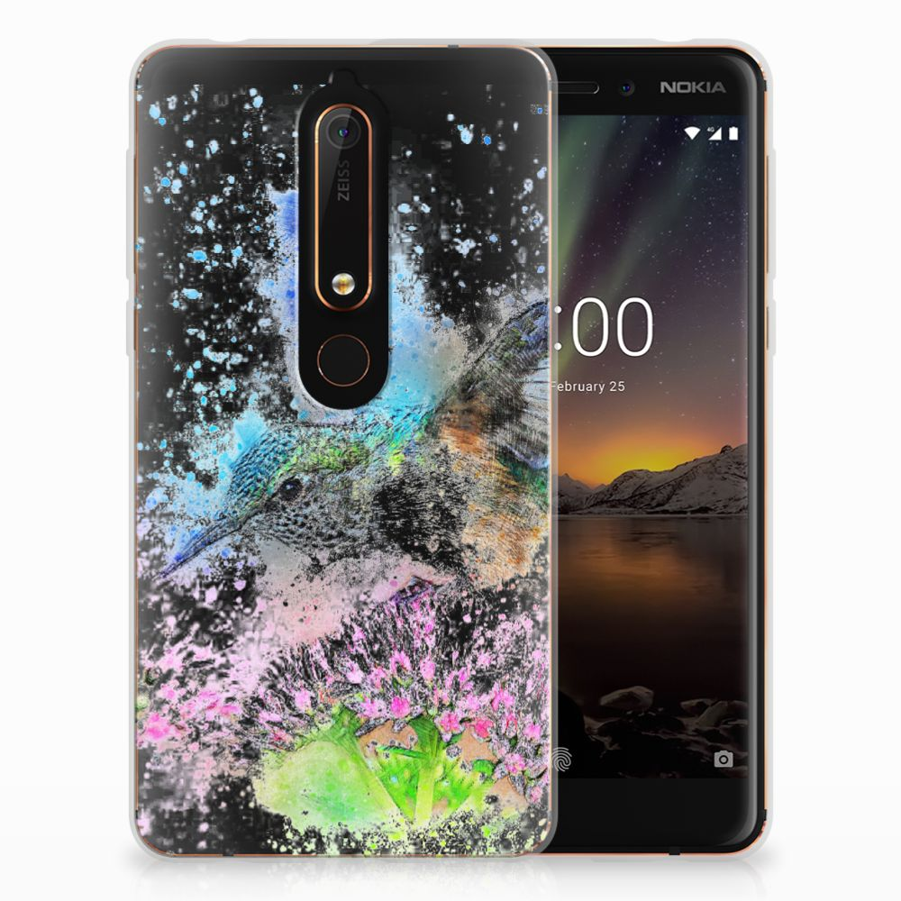 Hoesje maken Nokia 6 (2018) Vogel